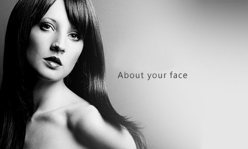 about your face
